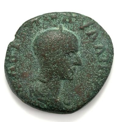 Ancient Rome Tranquillina AE 21mm of Caesarea, Cappadocia, ca. 244 AD