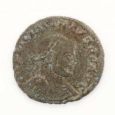 Ancient Rome Licinius I AE3 Follis Coin, Circa 313-318 AD