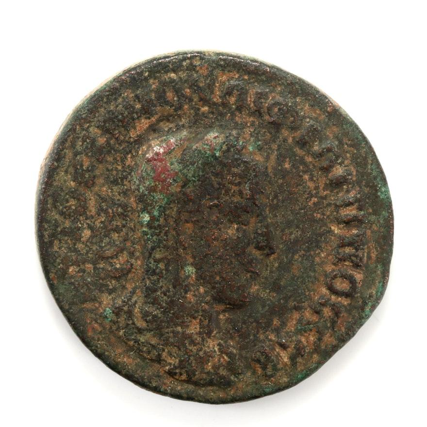 Ancient Rome Philip II, AE of Kieropolis, Cyria