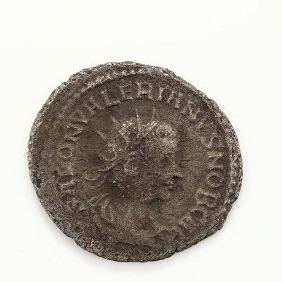 Ancient Rome Salonius Antoninianus Coin Circa 258-260 AD