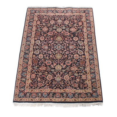 3'11 x 6' Hand-Knotted Indo-Persian Tabriz Rug
