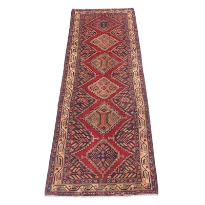 3'5 x 10' Hand-Knotted Northwest Persian Carpet Runner