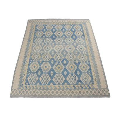 6'6 x 8'1 Handwoven Turkish Kilim Rug