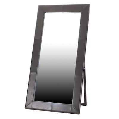 Bonded Vinyl Framed Decorative Full Length Floor Mirror