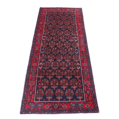 4'1 x 10' Hand-Knotted Northwest Persian Rug, Circa 1970s