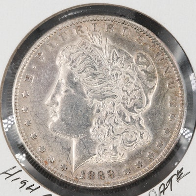 Low Mintage 1888-S Silver Morgan Dollar