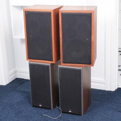 Logitech Z4 Speakers with Chauvet DJ Strobe Light   EBTH