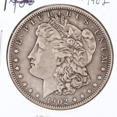 1902 Silver Morgan Dollar
