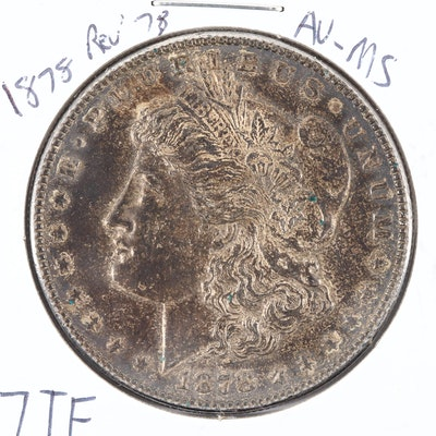 First Year of Issue 1878 Silver Morgan Dollar