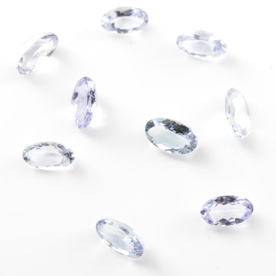Loose 2.06 CTW Tanzanite Gemstones