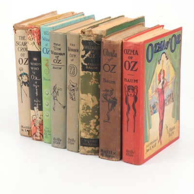 """""""The Wizard of Oz"""" and Sequels by L. Frank Baum, Early to Mid 20th Century"""