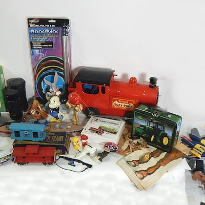Assorted Vintage Toy Collection
