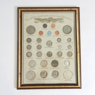 """U.S. 20th Century Coin Collection"" Including Silver Issues"