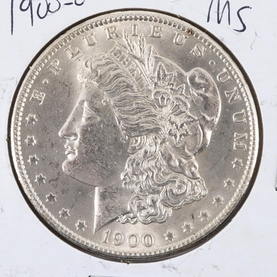 1900-O Silver Morgan Dollar