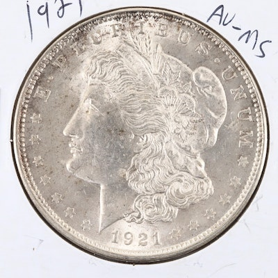 1921 Silver Morgan Dollar