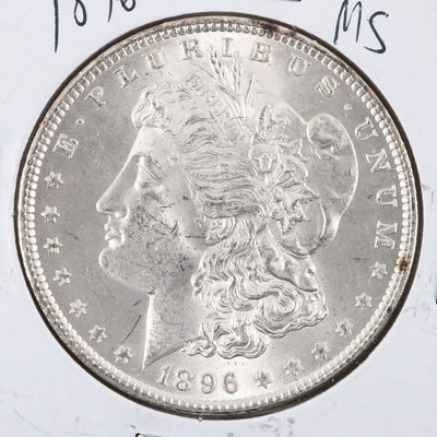 1896 Silver Morgan Dollar