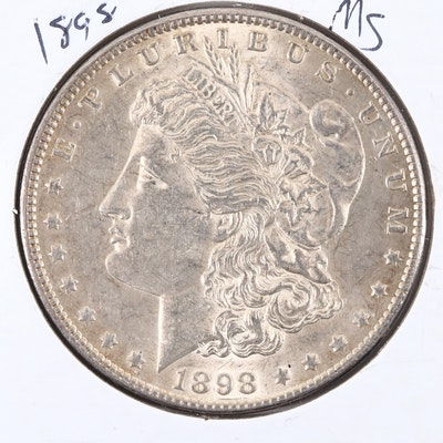 1898 Silver Morgan Dollar