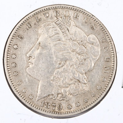 1879-O Silver Morgan Dollar