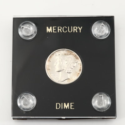 1936 Mercury Silver Dime