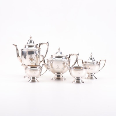 Alvin Mfg. Co. Sterling Silver Tea and Coffee Service