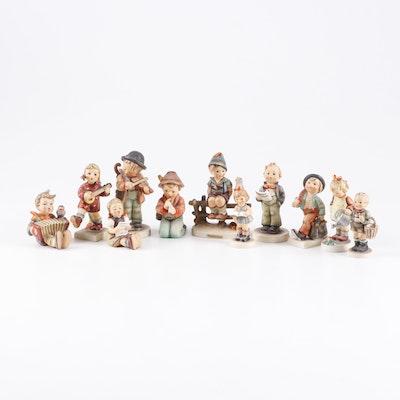 """Goebel Hummel Porcelain Figurines Including """"Little Gardener"""""""