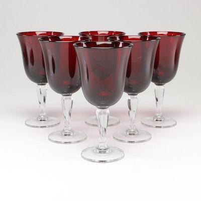 Ruby Glass Stemware