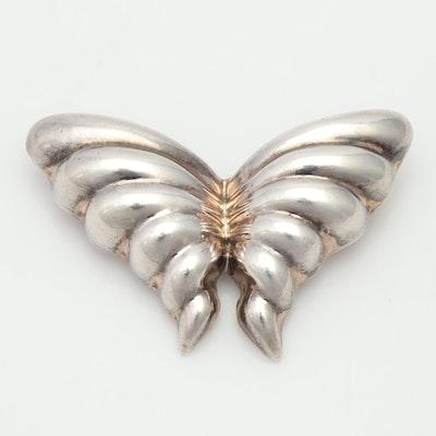 Tiffany & Co Sterling Silver Butterfly Brooch
