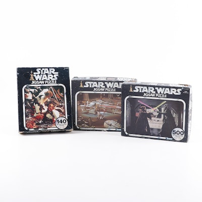 "Kenner ""Star Wars"" Jigsaw Puzzles, 1970s"