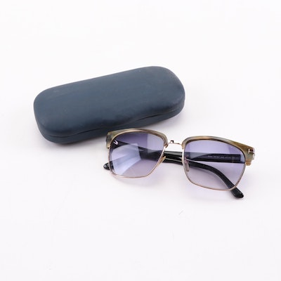 Tom Ford River TF367 Polarized Sunglasses with Case