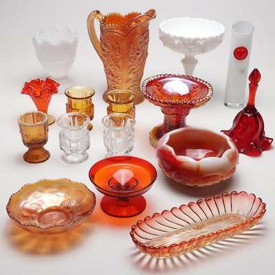 Baccarat, Fenton, Carnival & Art Glass, Vintage Collection