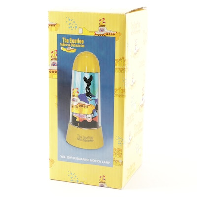 "The Beatles ""Yellow Submarine"" Rotating Motion Lamp"