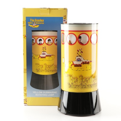"The Beatles ""Yellow Sumarine"" Rotating Motion Lamp"