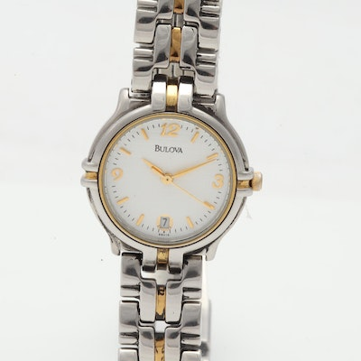 Bulova Two-Tone Stainless Steel 25MM Watch
