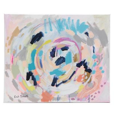 "Kait Roberts Acrylic Painting ""Cradle"""