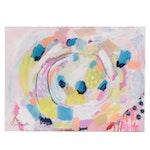 "Kait Roberts Acrylic Painting ""Nesting"""