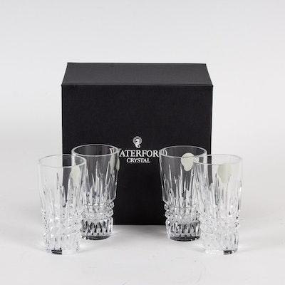 "Waterford ""Lismore"" Crystal Shot Glasses"