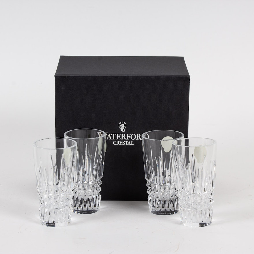 "Waterford ""Lismore"" Crystal Shot Glasses"