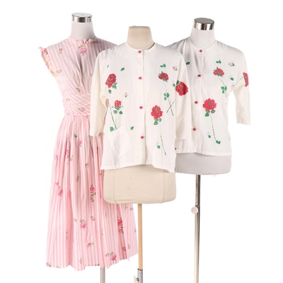 Faultless Lady Nobelt Rutledge for Bonwit Teller Tops with B. Altman & Co Dress