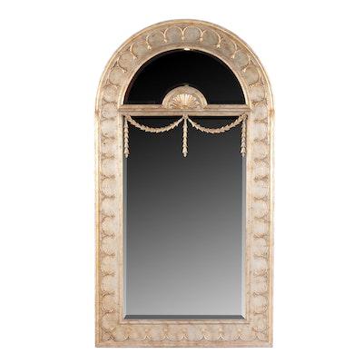 La Barge Italian Neoclassical Style Trumeau Mirror
