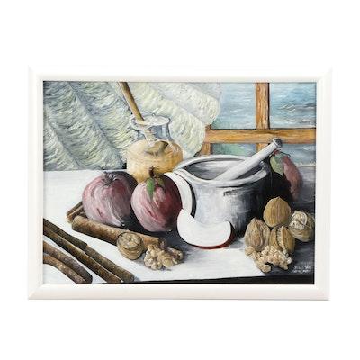 Jack Grossman Still Life Oil Painting