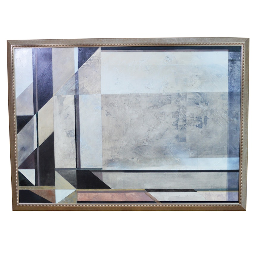 20th Century Abstract Oil Painting