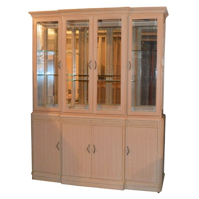 Thomasville Impressions Breakfront China Cabinet