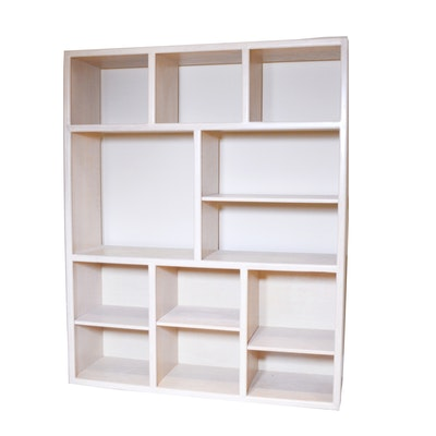 Contemporary Open Bookcase