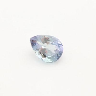 Loose 0.83 CT Tanzanite Gemstone