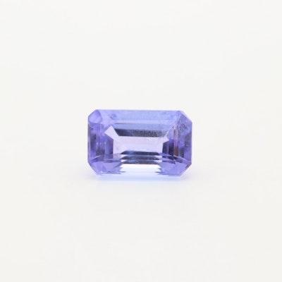 Loose 0.81 CT Tanzanite Gemstone