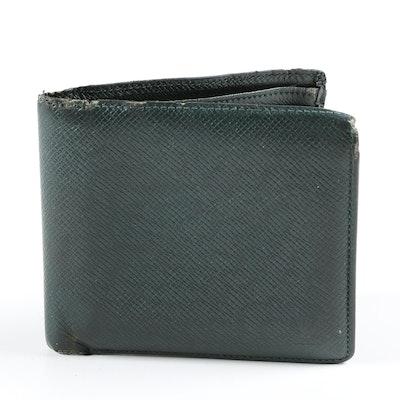 Louis Vuitton Paris Bifold in Borneo Green Taiga Leather