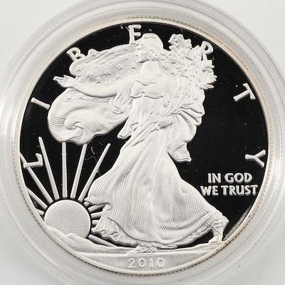 2010-W $1 U.S. Silver Eagle Proof Coin
