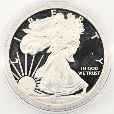 2013-W $1 U.S. Silver Eagle Proof Coin