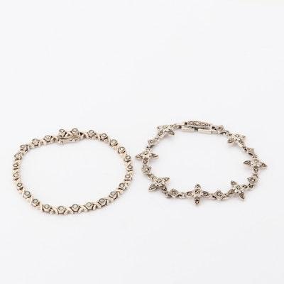 Sterling Silver Marcasite Bracelets