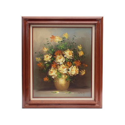 H. Maury Still Life  Oil Painting